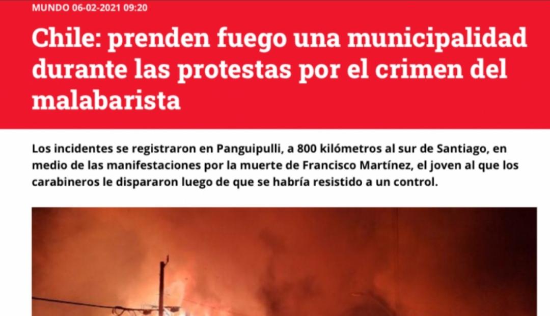 EL MUNDO NOS MIRA: Así reaccionó la PRENSA INTERNACIONAL al malabarista BALEADO en Panguipulli