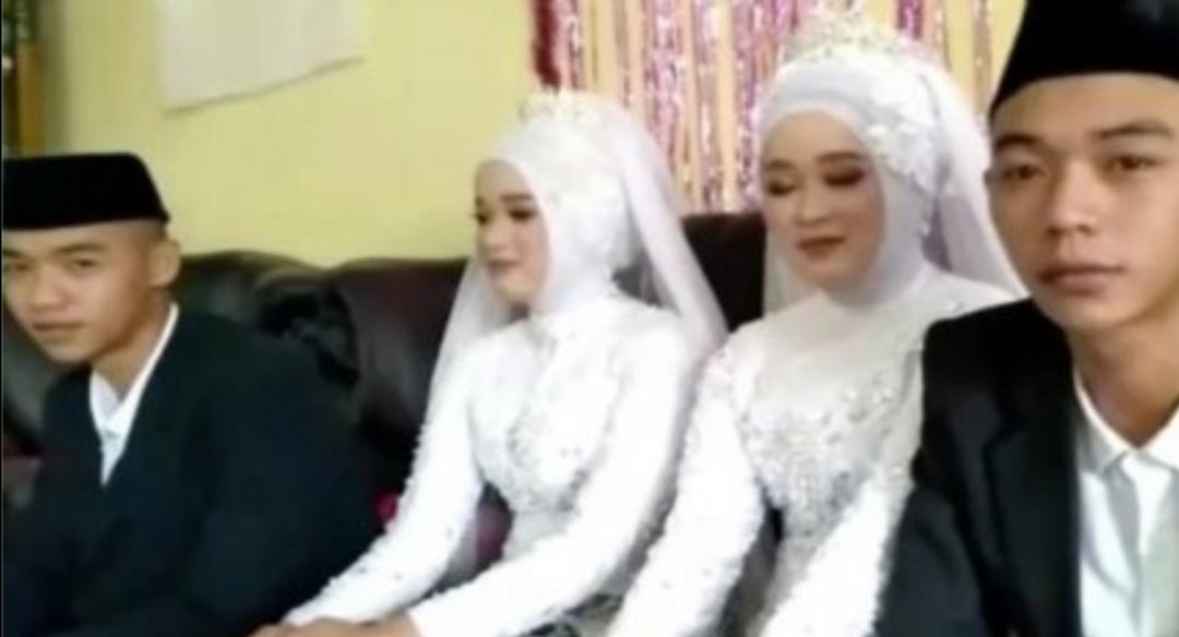 Hermanos gemelos se casan con gemelas y viven bajo el mismo techo: «A veces NOS CONFUNDIMOS»