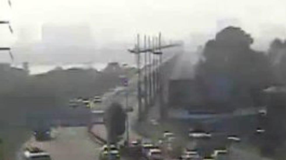 AHORA! Puente Llacolén es CERRADO tras denuncia de BOMBA en las inmediaciones