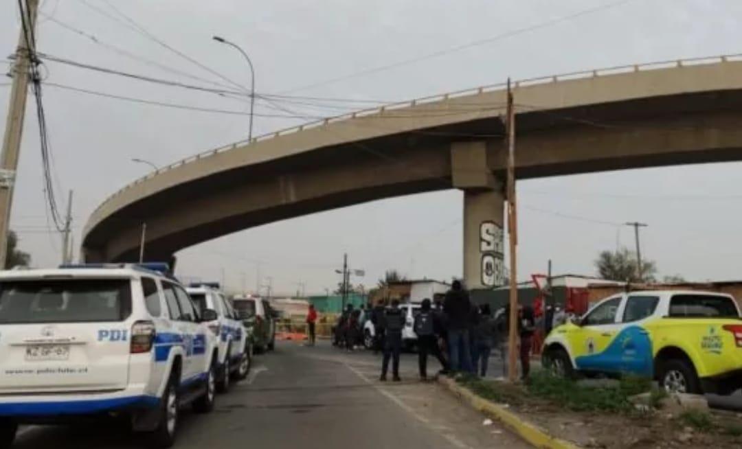 Dos Haitianos mueren ACRIBILLADOS en plena via pública en la región Metropolitana