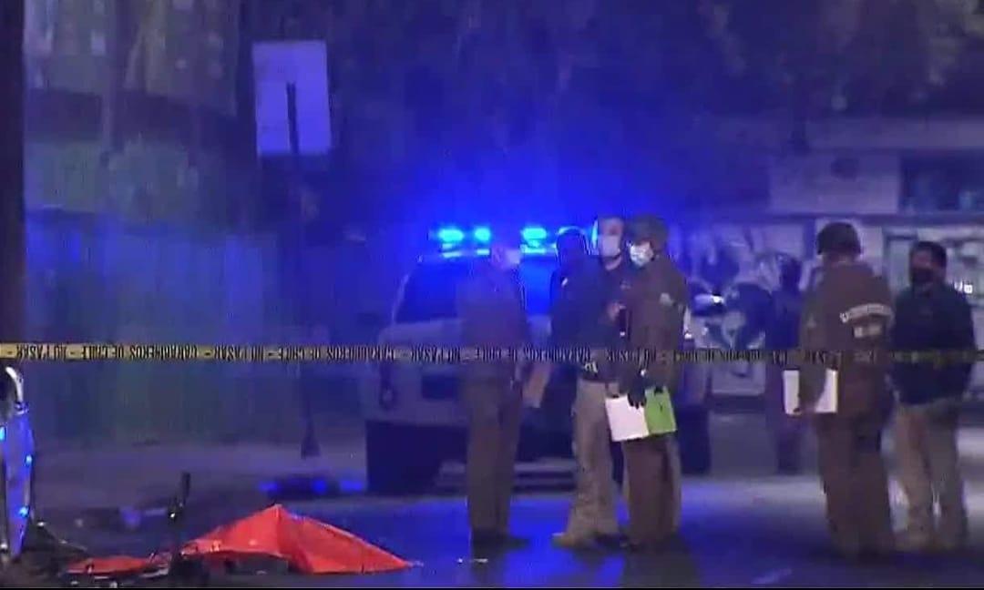 Hombre fallece tras recibir SIETE IMPACTOS de bala en el barrio Franklin, región Metropolitana