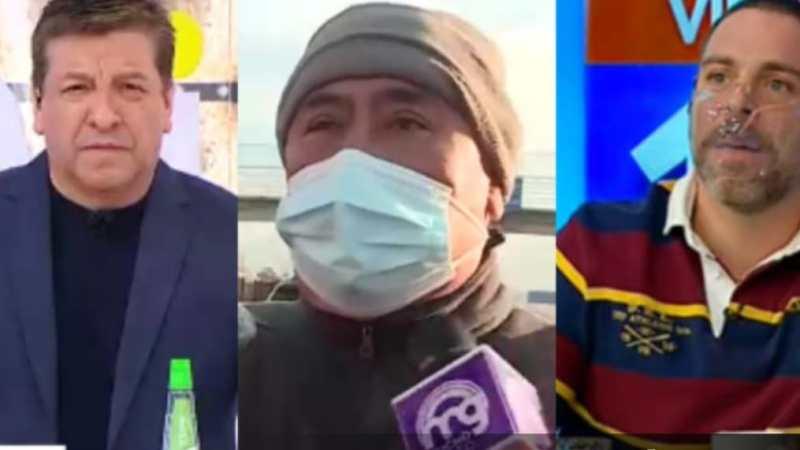 «Tan WINNER CHV»: Neme se INDIGNÓ en MG por incómodo despacho donde compartieron entrevistado