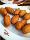Dogfish croquettes