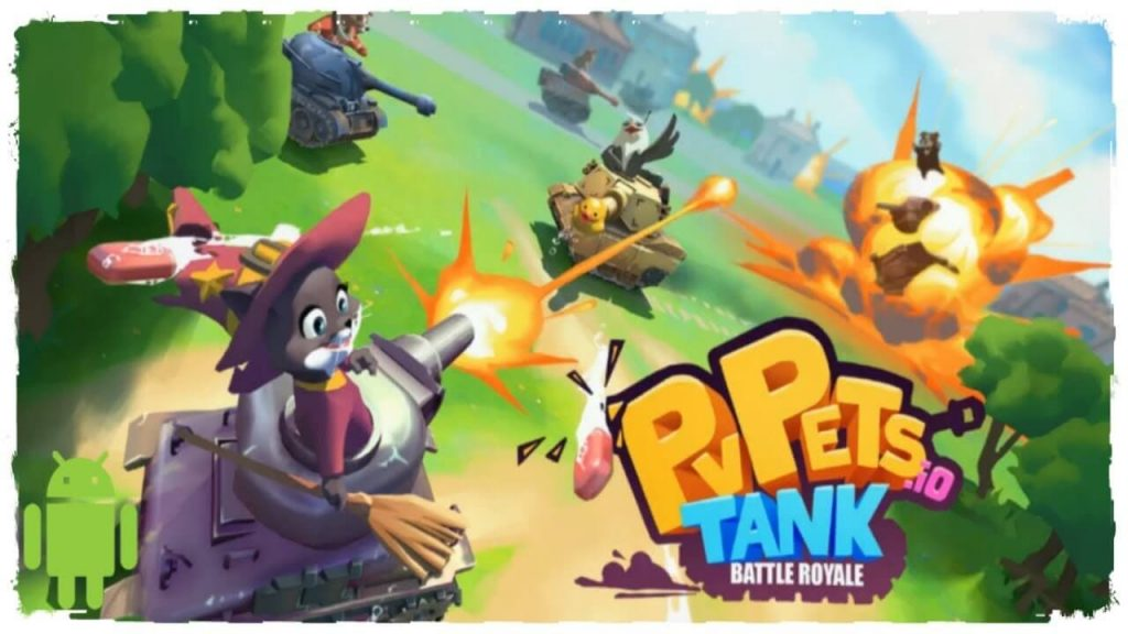 Pvpets Tank Battle Royale Mod