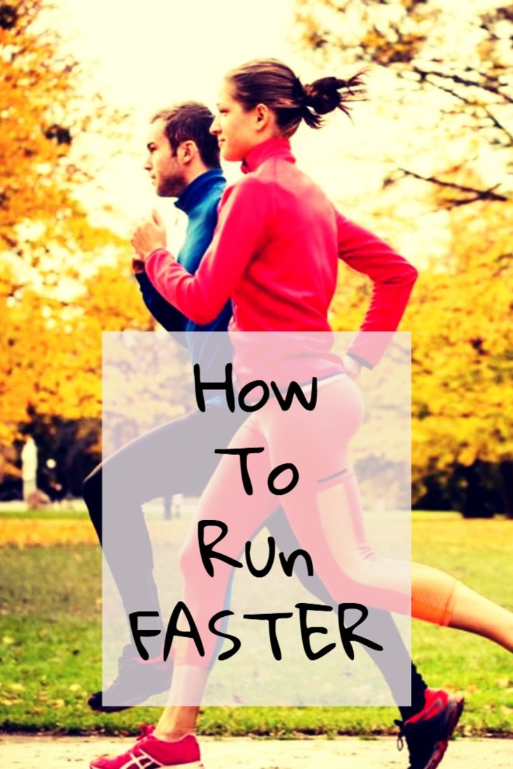 Tips for Runners: How to Run FASTER - 19 tips to get your butt in gear at http://ChiliGuy.com