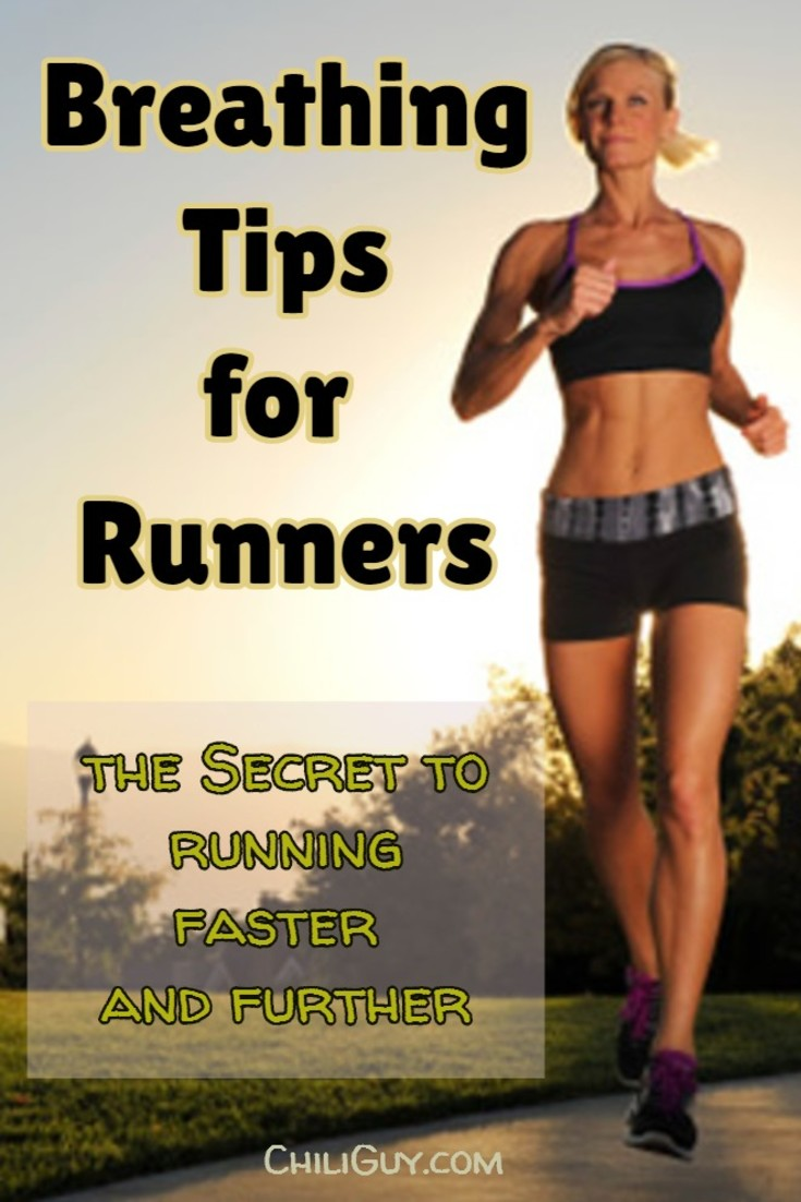 Breathing Tips for Beginner Runners:  This how you run faster, further, and longer.