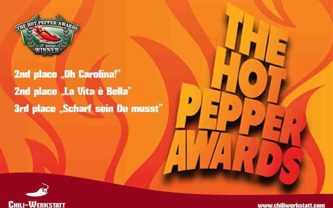 """Wir sind mehrfacher """"Hot Pepper Awards"""" Gewinner!"""