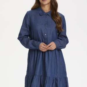Kaffe-Jeanskleid-blue denim-Kationa-Dress