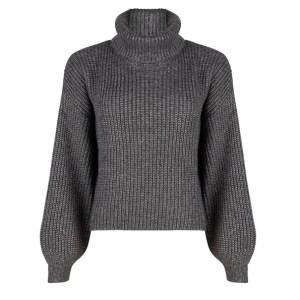 Esqualo Sweater lurex dark grey