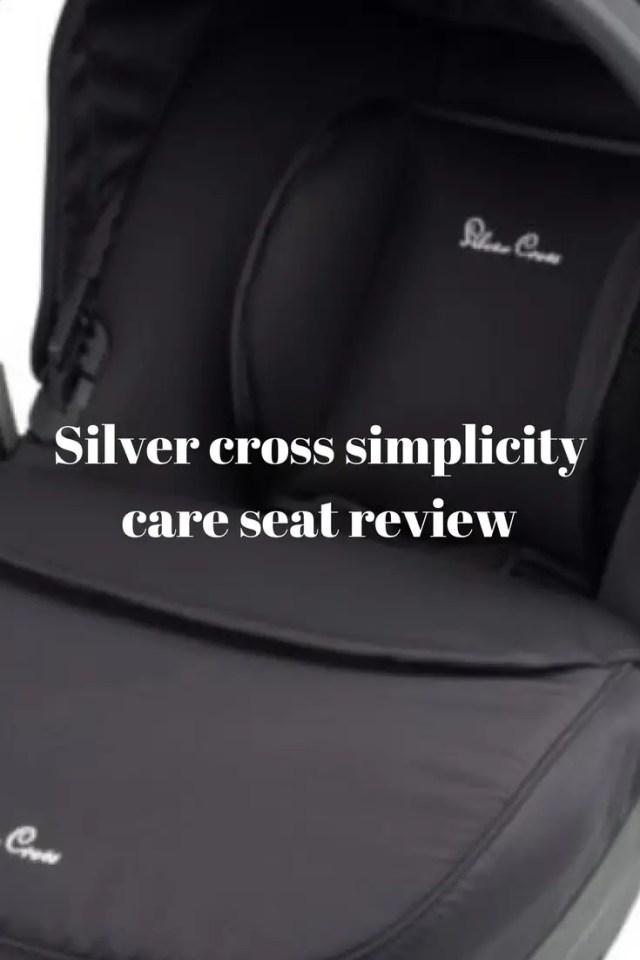 Silver Cross Simplicity car seat review #silvercross
