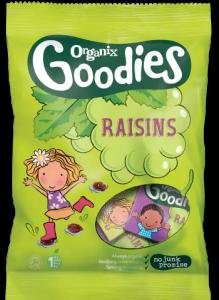 Organix raisins