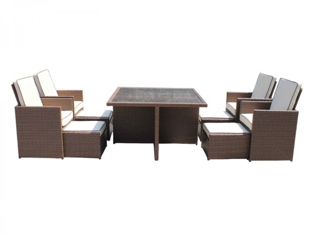 Lazy gardeners rattan furniture