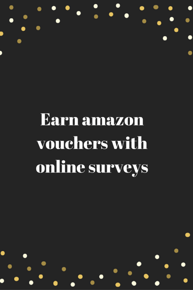 Earn amazon vouchers