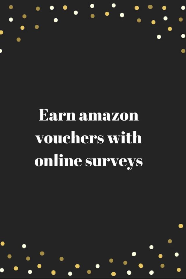 Earn amazon vouchers