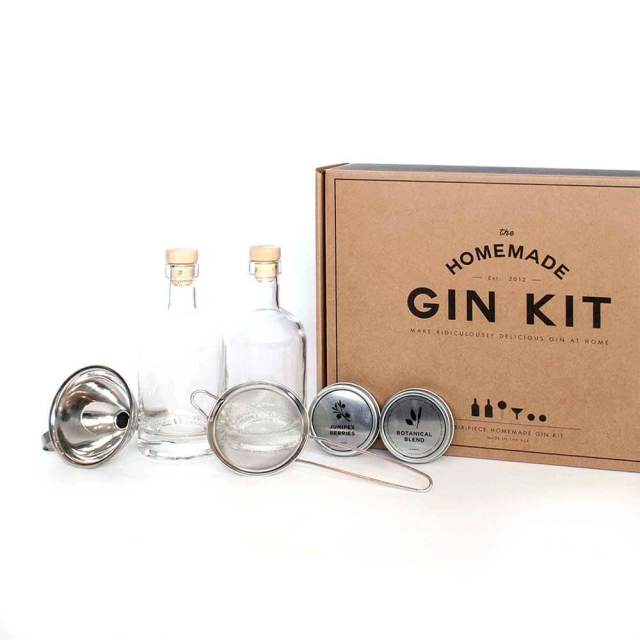 Father's Day gift ideas gin kit