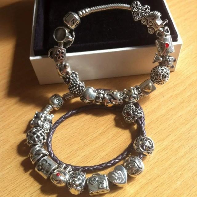 My charm story pandora charms bracelet