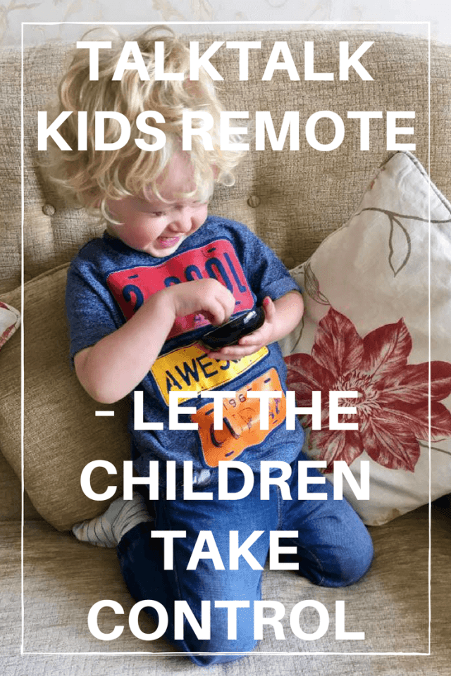 Talk Talk Kids Remote, Let Children Take Control #talktalk #talktalkkidsremote