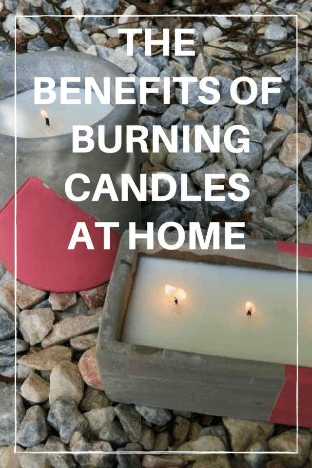 Benefits of Burning Candles at Home #candles #aromatherapy
