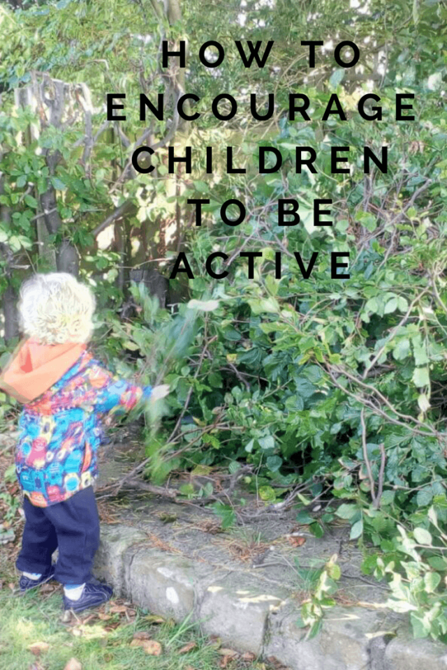 Encourage children to be more active