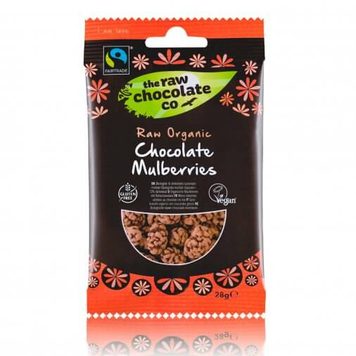 Fairtrade chocolate raw chocolate mulberries