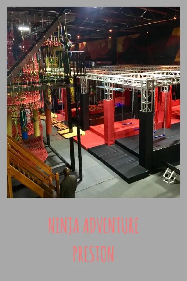 Ninja Adventure Preston review #lancashire #daysout