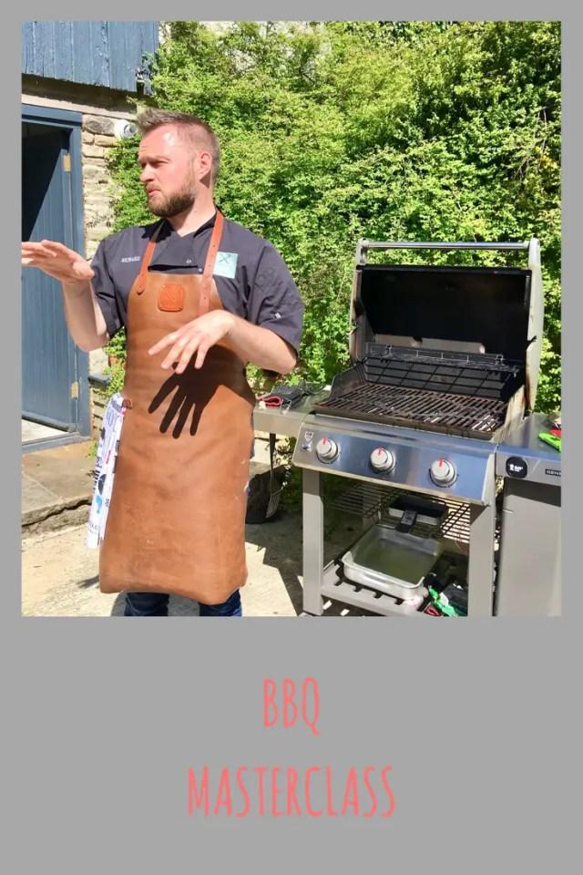 BBQ masterclass with BBQ guru Richard Holden and Thermapen