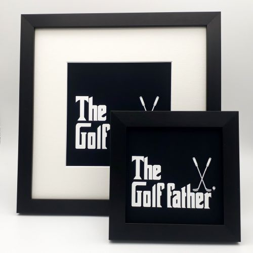 Father's Day gift ideas a photo of the golf father pictures
