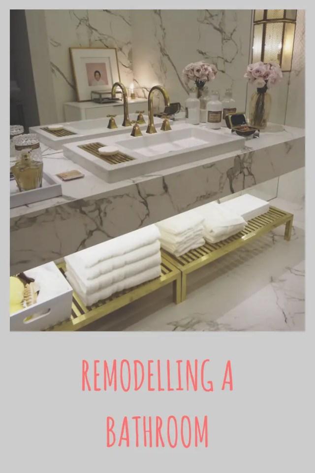 Planning a bathroom renovation