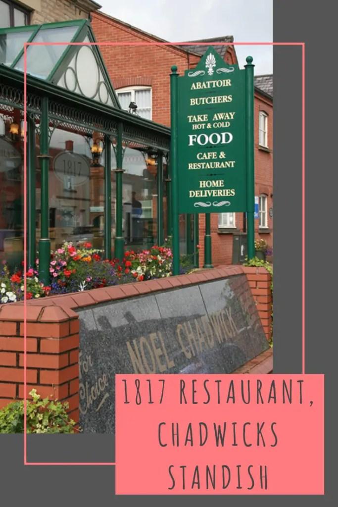 1817 restaurant at Chadwicks good emporium in Standish #food #wigan #lancashire #manchester