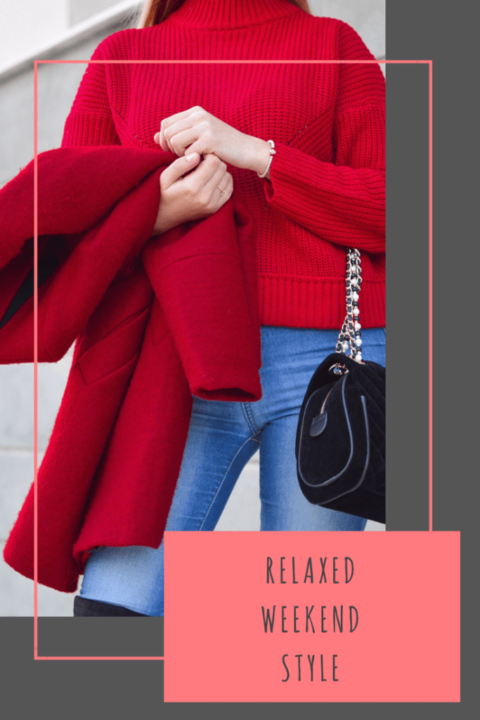 Relaxed weekend style #fashion