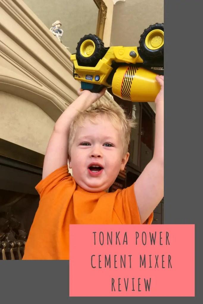 Tonka cement mixer review