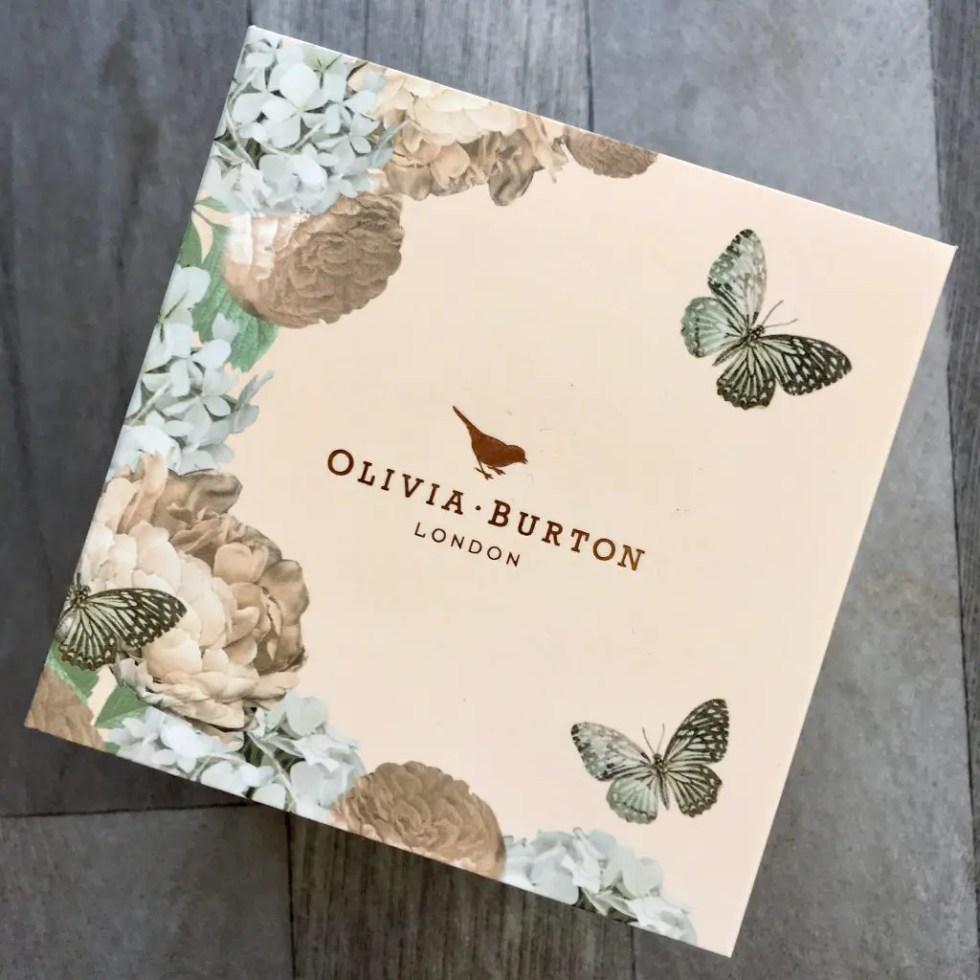 Bradbury's The Jewellers review the Olivia burton branded watch box