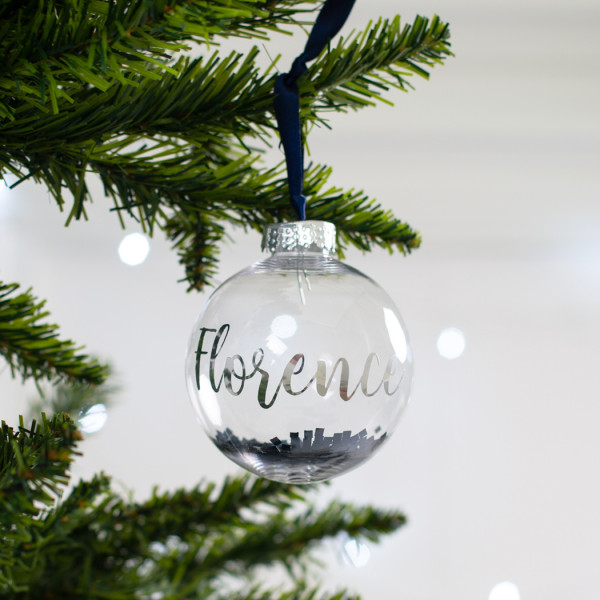 children's gift guide personalised bauble