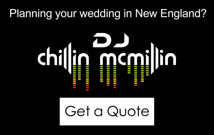New England wedding DJ quote