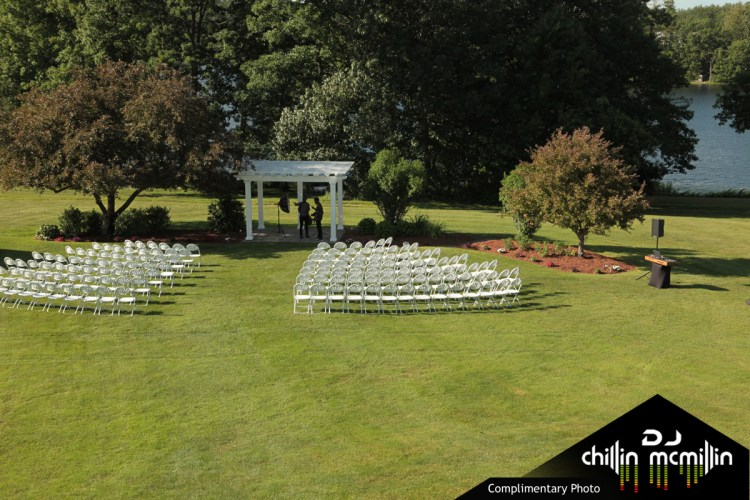 Water front ceremony