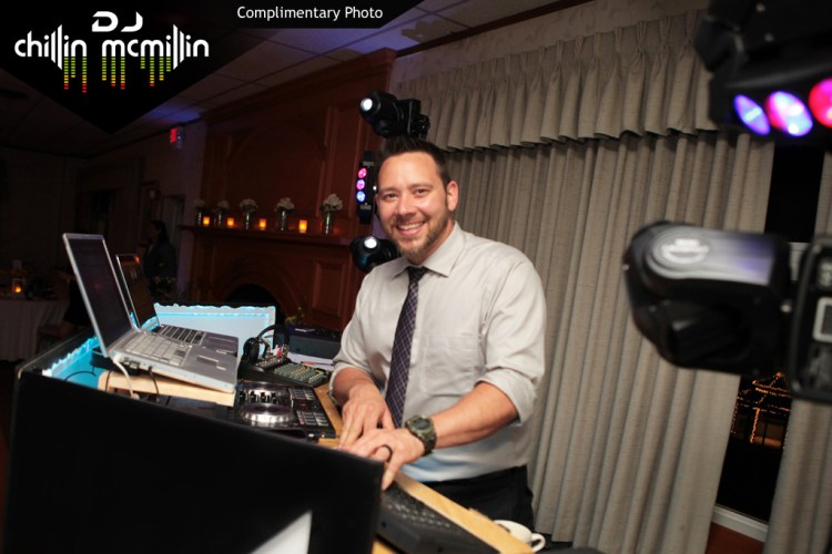 DJ Chillin McMillin Marc & Natalie's Wedding at Harris Inn Pelham NH
