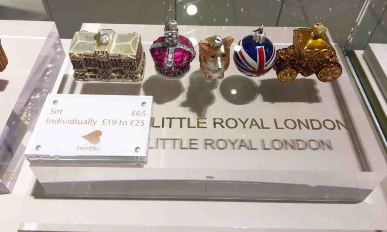 Little Royal London John Lewis Christmas ornaments