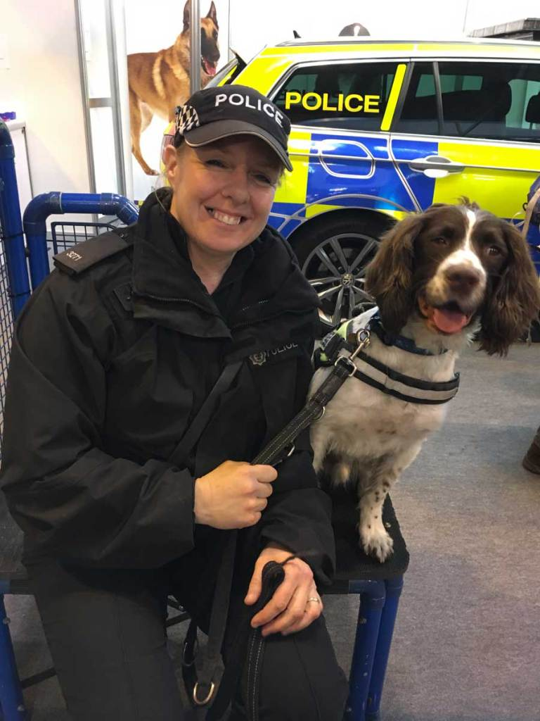 Police with dog