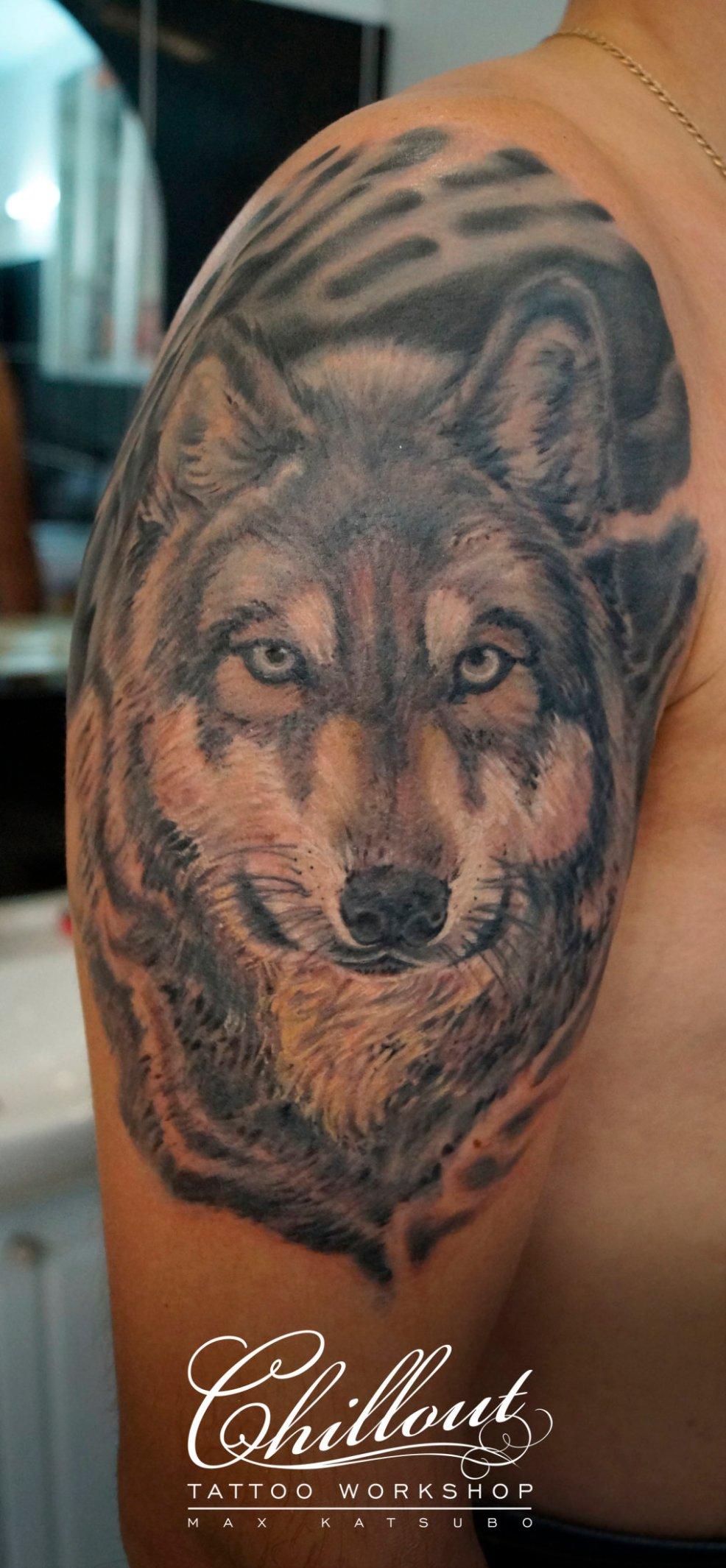 татуировка волк значение фото Chillout Tattoo Workshop