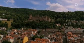 Postkartenmotiv: Altstadt und Schloss
