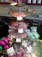 Angebot im Ladenbereich der Chocolaterie Götterspeise.