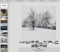 Bildschirmfoto der Startseite des Fotoclubs f/stop