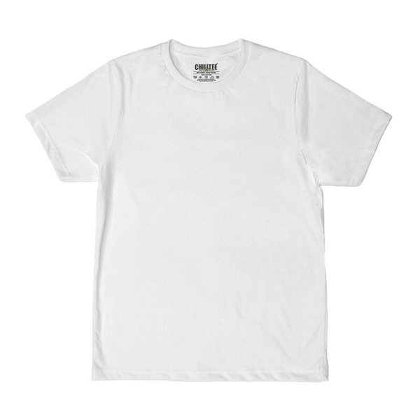 Unisex White Advance T-shirt Front View