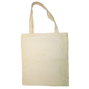 Custom your Canvas Tote-bag Free size Back View