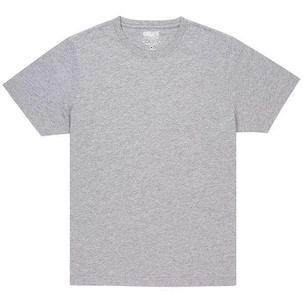 Unisex Grey Crew T-shirt Front
