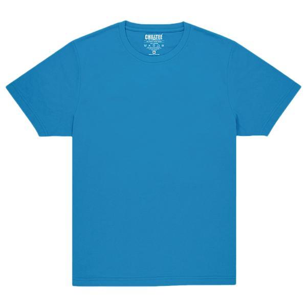 Unisex Blue Lapis Crew T-shirt Front