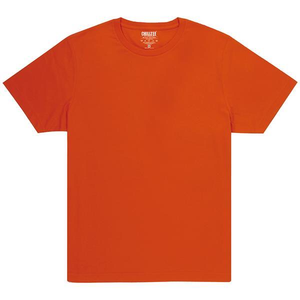 Unisex Orange Crew T-shirt Front