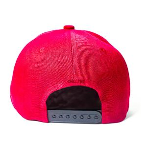 Custom and Embroider your Red Cap Back View