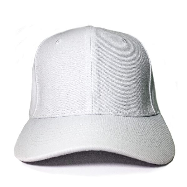 Custom and Embroider your White Cap Front View