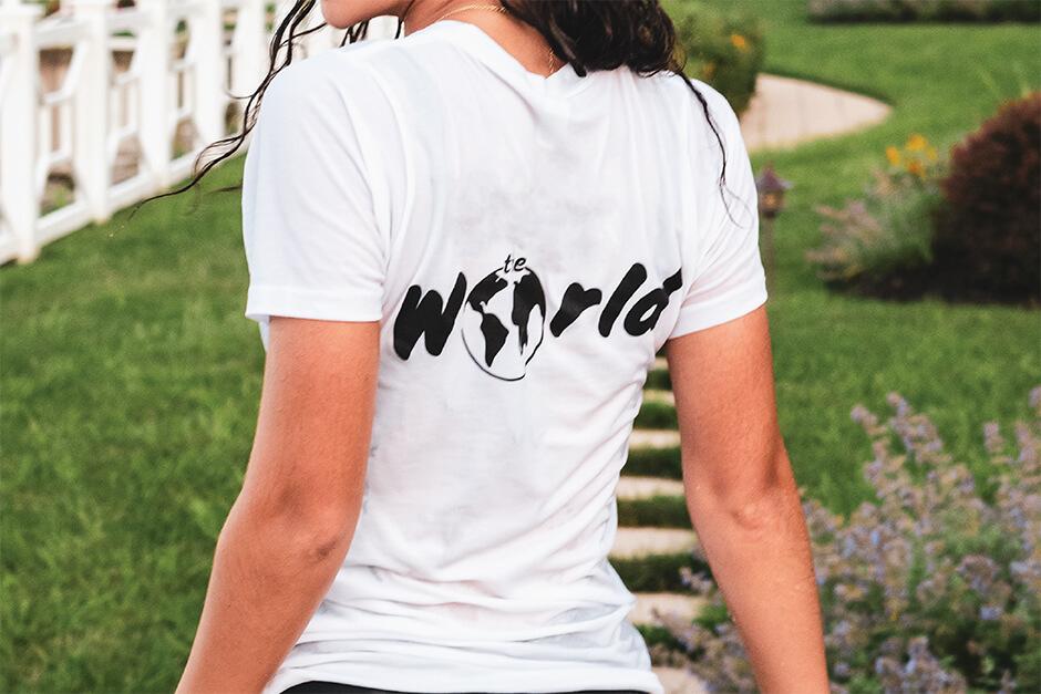 women crew t-shirt